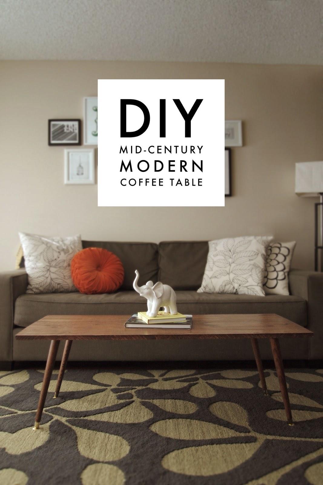 diy mid-century modern coffee table – jamie bartlett design