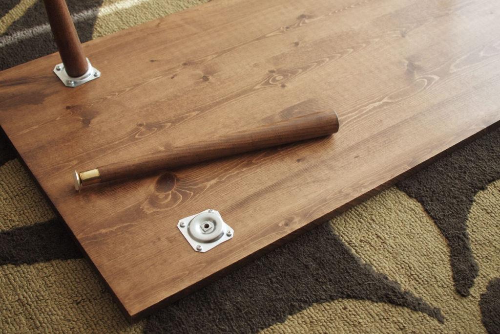 diy mid century table legs diy mid century modern coffee table bartlett design