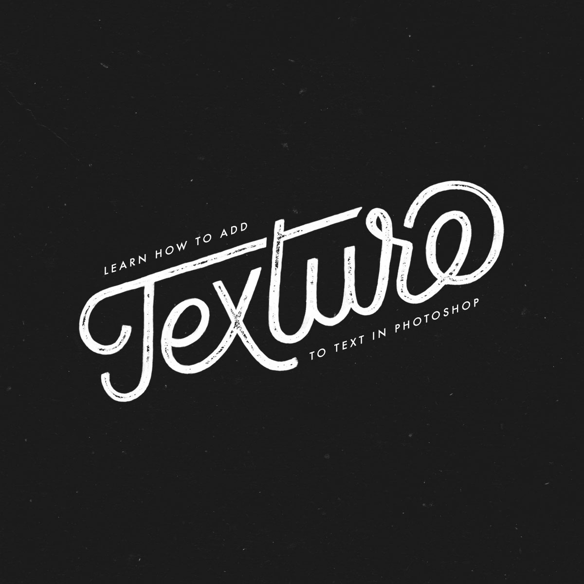 Tutorial learn how to add texture to text jamie bartlett design baditri Images