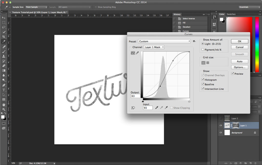 Tutorial: Learn How To Add Texture to Text – Jamie Bartlett